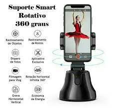 Suporte Celular Robô Cameraman 360o Inteligente Rastreamento