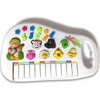 Teclado Piano Animal Com Som De Bichos