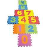 Brinquedo Tapete Educativo em EVA 10 Peças Números