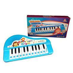 TECLADO MUSICAL INFANTIL PIANO 22 TECLAS 21 SONS 3 ANOS