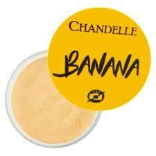Pó banana Chandelle translucido facial