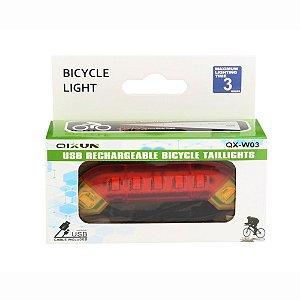 Qixun Luz de bicicleta 400lumens