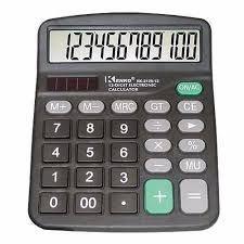 Calculadora Eletronica De Mesa Karuida 12 Digitos