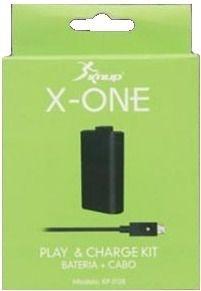 Kit Carregador Bateria Pra Controle Xbox one Knup