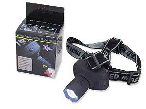 Lanterna De Cabeça 3 Modos Led Alto Alcance E Luminosidade