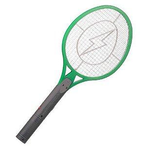 Raquete Elétrica Recarregável Mata Mosquito