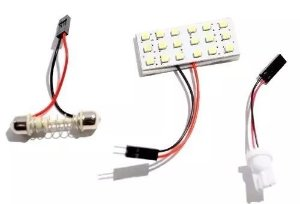 Lampada De Led Para Carro Interna 18 Leds Universal Design