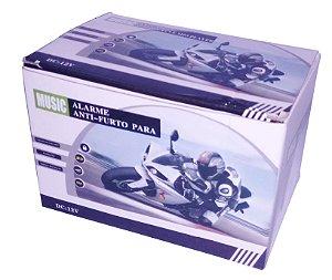 Alarme De Moto Usb, Mp3,som Pra Moto,fm Segurança Qualidade, Caveira