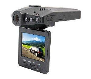 Câmera Filmadora Automotiva Visão Noturna Lcd 2,5 Hd Dvr