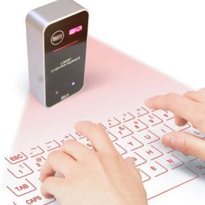 Teclado Bluetooth Projetável A Laser