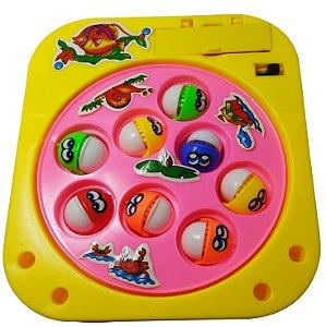 Brinquedo De Pescaria Pega Peixe Fishing Game Com 8 Peixes