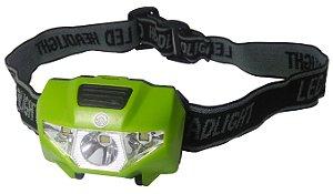 Lanterna De Cabeça 3 Led ,3 Modos Camping, Trilha, Luminosa