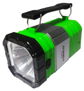 Luzes Para Campismo 2 Em 1, Lanterna 1w Recarregável Camping