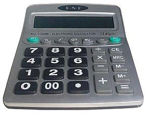Calculadora Eletronica De Mesa E.n.f 12 Digitos, 21 X 16 Cm