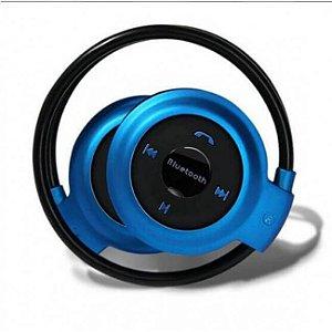 Fone De Ouvido Bluetooth Mp3 Stereo Cartão Micro Sd Mini-503