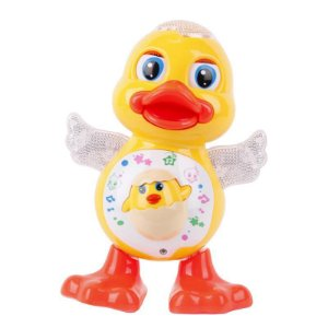 Pato Dançarino Dancing Duck Com Led E Sons Para Criança