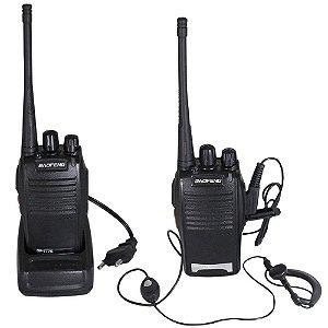 Rádio Comunicador Walk Talk Baofeng 777s Alcance 3km + Fone
