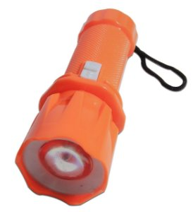 Mini Lanterna Led Com Zoom, Flashlight Key Button