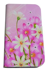 Capa Para Samsung S3 Slim G3812 ( Abre E Fecha ) Case Floral