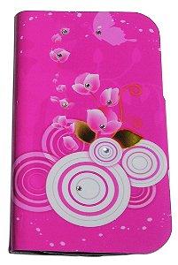Capa Para Samsung Galaxy Win Gt-i8552 (abre E Fecha) Floral