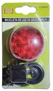 Luz De Segurança Para Bicicleta Traseira Brilhante 5 Leds