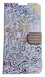 Capa Para Celular Samsung S3 I8262 ( Abre E Fecha ) Case Colorido