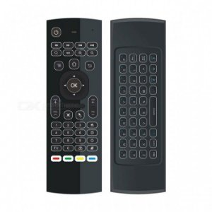 Controle Air Mouse Com Mini Teclado Wireless Smart Tv Box Pc
