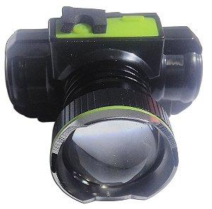 Lanterna De Cabeça Recarregável Led Cree Xml T6 Brilho, Zoom