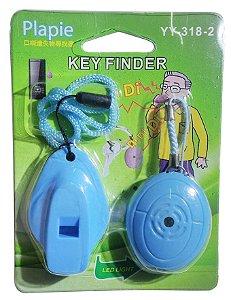 Key Finder Rastreador Localizador De achar Chave, Apito assovio Chaveiro