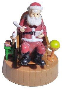 Boneco Cadeira Do Papai Noel Brinquedo Que Mexe Com Luz Solar