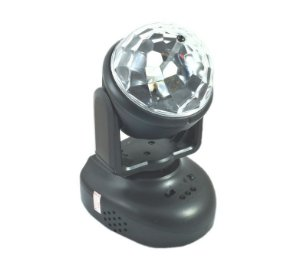 Mini Moving Led Rgb Media Esfera Robotica Luz Mp3 Lsy-080