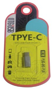 Otg usb flash driver TYPE-C plug and play
