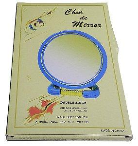 Espelho De Aumento Para Maquiagem Mirror Dois Lados