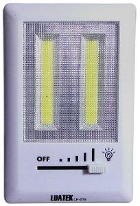 Luminária De Parede Interno/externo 2 Leds Cob Com Regulador