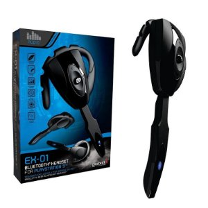 Fone De Ouvido Bluetooth Ex-01 Para Ps3, Celular E Pc