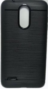 Capinha de Celular LG K9 emborrachada preta