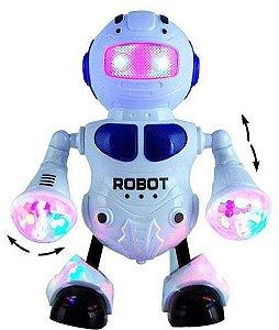 Robô de Led que dança e emite luz e Som