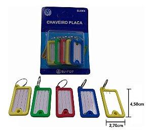 Chaveiro Organizador Identificador De Chaves Com Etiqueta