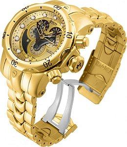 5b01e405591 Relógio Reserve 14465 Hibrido Dourado Azul - Invicta - Watches ...