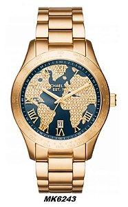 Relógio Michael Kors Feminino Layton MK5958 5959 6243 - Original