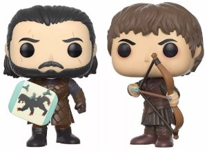 Pack Funko POP! Batalha dos Bastardos - Game of Thrones