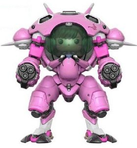 Funko POP! D.VA With MEKA - OVERWATCH