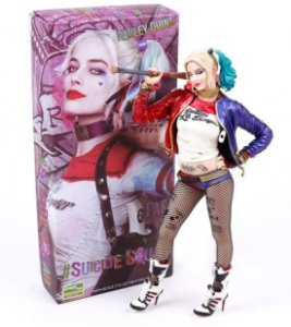 Action Figure Escala 1:6 Harley Quinn - Suicide Squad