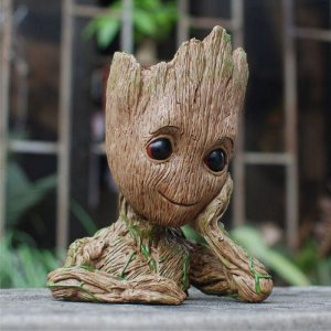 Action Figure Vaso Groot - Guardiões da Galáxia 2
