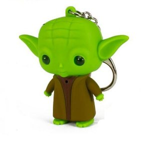 Chaveiro Com Luz e Som Mestre Yoda - Star Wars