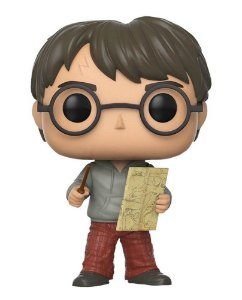 Funko POP! Harry Potter com Mapa do Maroto