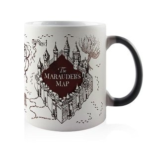 Caneca Mágica Mapa do Maroto - Harry Potter