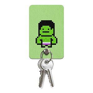 Porta-Chaves Pixel Hulk