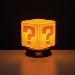Luminária Question Block 001 Paladone - Super Mario Bros