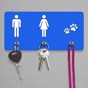 Porta-Chaves Ele Ela Pets